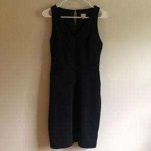 a new day black sheath dress size S